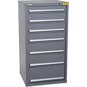 "Kennedy HDS Modular Drawer Cabinet 7332UGY - Standard 7 Drawer 31""W x 30""D x 60 Gray"