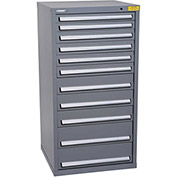 "Kennedy HDS Modular Drawer Cabinet 7334UGY - Standard 11 Drawer 31""W x 30""D x 60 Gray"
