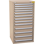 "Kennedy HDS Modular Drawer Cabinet 7335TX - Standard 13 Drawer 31""W x 30""D x 60 Tan"