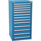 "Kennedy HDS Modular Drawer Cabinet 7335UB - Standard 13 Drawer 31""W x 30""D x 60 Blue"