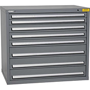 "Kennedy HDS Modular Drawer Cabinet 7428UGY - Wide-Standard 8 Drawer 45""W x 30""D x 40 Gray"
