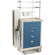 Blue Bell Medical™ BAC-30 Deluxe Difficult Airway Cart 89015 - 6 Drawers