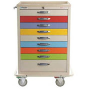 Blue Bell Medical™ BAC-30 Basic Pediatric Crash Cart 89027 - 9 Drawers