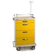 Blue Bell Medical™ BAC-30 Standard Isolation Cart 89030 - 4 Drawers