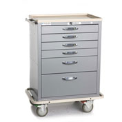 Blue Bell Medical™ BAC-27 Standard Supply Cart 89034 - CPB Lock, 6 Drawers