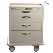 Blue Bell Medical™ BAC-24 Standard Exchange Cart 89039 - 4 Drawers