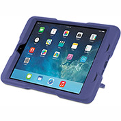 Kensington® BlackBelt 2nd Degree Rugged Case for iPad Mini, PC/Silicon Rubber, Plum