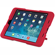 Kensington® BlackBelt 2nd Degree Rugged Case for iPad Mini, PC/Silicon Rubber, Red