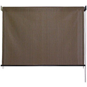 "Keystone Cord Operated Sun Shade, non-valanced, Cabo Sand 48""W x 72""H"