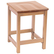 "KFI 24"" Counter Height Wood Stool - Natural"