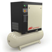 Ingersoll Rand R7.5i-TAS-190 200/3 Rotary Screw Air Compressor 3 Phase, 200 Volts, 10HP, 120 Gal