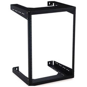 "Kendall Howard™ 8U Open Frame Wall Rack - 18"" Depth"