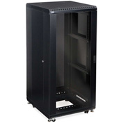 "Kendall Howard™ 27U LINIER® Server Cabinet - Glass/Solid Doors - 24"" Depth"