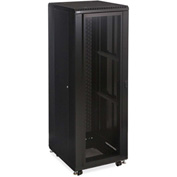 "Kendall Howard™ 37U LINIER® Server Cabinet - Convex/Convex Doors - 24"" Depth"