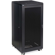 "Kendall Howard™ 27U LINIER® Server Cabinet - Vented/Vented Doors - 24"" Depth"