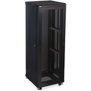 "Kendall Howard™ 37U LINIER® Server Cabinet - Vented/Vented Doors - 24"" Depth"