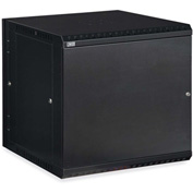 Kendall Howard™ 12U LINIER® Swing-Out Wall Mount Cabinet - Solid Door