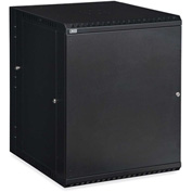 Kendall Howard™ 15U LINIER® Swing-Out Wall Mount Cabinet - Solid Door