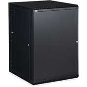 Kendall Howard™ 18U LINIER® Swing-Out Wall Mount Cabinet - Solid Door