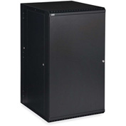 Kendall Howard™ 22U LINIER® Swing-Out Wall Mount Cabinet - Solid Door