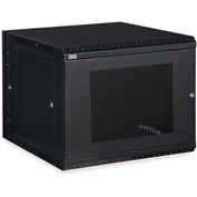 Kendall Howard™ 9U LINIER® Swing-Out Wall Mount Cabinet - Vented Door