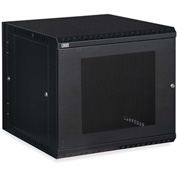Kendall Howard™ 12U LINIER® Swing-Out Wall Mount Cabinet - Vented Door