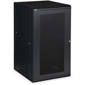 Kendall Howard™ 22U LINIER® Swing-Out Wall Mount Cabinet - Vented Door