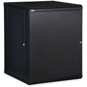 Kendall Howard™ 15U LINIER® Fixed Wall Mount Cabinet - Solid Door