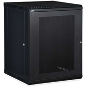Kendall Howard™ 15U LINIER® Fixed Wall Mount Cabinet - Vented Door