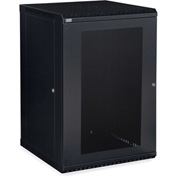 Kendall Howard™ 18U LINIER® Fixed Wall Mount Cabinet - Vented Door