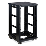 "Kendall Howard™ 22U LINIER® Server Cabinet, No Doors/No Side Panels, 24"" Depth"