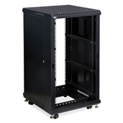 "Kendall Howard™ 22U LINIER® Server Cabinet, No Doors, 24"" Depth"