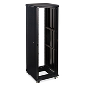 "Kendall Howard™ 42U LINIER® Server Cabinet, No Doors, 24"" Depth"