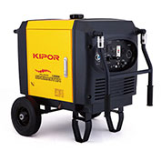 Kipor IG6000h CARB, 6000 Watt, Inverter Generator, Encl. Frame, EPA/CARB Appr.,Recoil/Electric Start