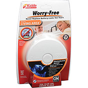 Kidde P3010L Worry-Free Living Area 10-Year Sealed Lithium Battery Operated Smoke Alarm