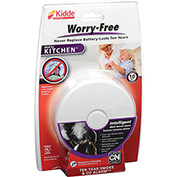 Kidde P3010K-CO Worry-Free Smoke & CO Alarm, Kitchen, 10-Year Sealed Lithium Battery Operated