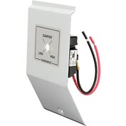 King Thermostat Kit Built-in Tamperproof Double Pole Single Throw BKT2BW-TP White For CB Series