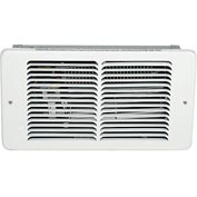 King Pic-A-Watt®  Compact Wall Heater PAW2422, 2250W Max, 240V, White