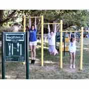 Healthtrek Chin Up Bars In Yellow, For Ages 5 To 12