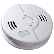 Combination Carbon Monoxide & Smoke Alarms, Kidde 21006377 - Pkg Qty 6