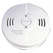Combination Carbon Monoxide & Smoke Alarm, Kidde 900-0102-02 - Pkg Qty 3