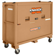 Knaack 1000 Monster Box™ Piano Box, 48 Cu. Ft., Steel, Tan