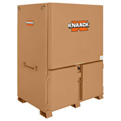 Knaack 119-01 Field Station, 120.7 Cu. Ft., Steel, Tan