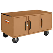 Knaack 62 War Wagon® Rolling Work Bench, 3,400 Lbs, Steel, Tan
