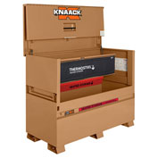Knaack 89H Storagemaster® Piano Box w/ Thermosteel™, Steel, Tan