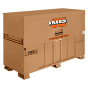 Knaack 91 Storagemaster® Piano Box w/ Ramp, 57.5 Cu. Ft., Steel, Tan