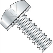 2-56X1/8  Phillips Pan Internal Sems Machine Screw Fully Threaded Zinc, Pkg of 10000