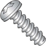 #2 x 1/4 Phillips Pan Self Tapping Screw Type B Fully Threaded 18-8 Stainless - Pkg of 5000