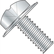 2-56X1/4  Phillips Pan Square Cone Sems Fully Threaded Zinc, Pkg of 10000