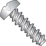 #4 x 1/2 #3HD Phillips Pan High Low Screw Fully Threaded 410 Stainless Steel - Pkg of 10000